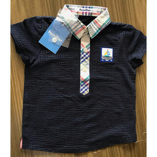 familiar - 新品タグ付きファミリア ポロシャツ