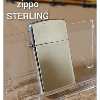 ジッポー(ZIPPO)のZippo/STERLING/オイルライター/スリムタイプ/中古/喫煙具/(タバコグッズ)