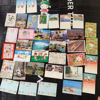 サンリオ(サンリオ)の39枚+おまけ付き 葉書 ハガキ 絵葉書 ポストカード サンリオ キティ(カード)