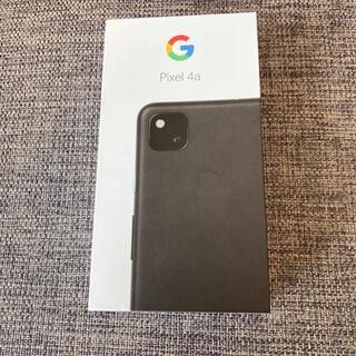 Google Pixel - SIMフリー Google Pixel 4a 128GB Just Black