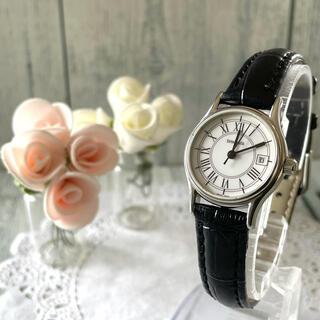 Tiffany & Co. - 【希少】TIFFANY&Co ティファニー 腕時計 クラシック ラウンド デイト