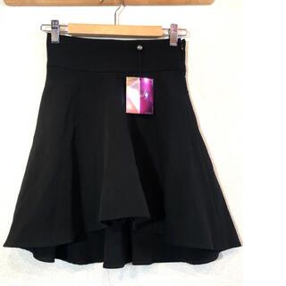 レディー(Rady)のRady★スカート★フレア★レディー★未使用★ブラック★黒(ひざ丈スカート)