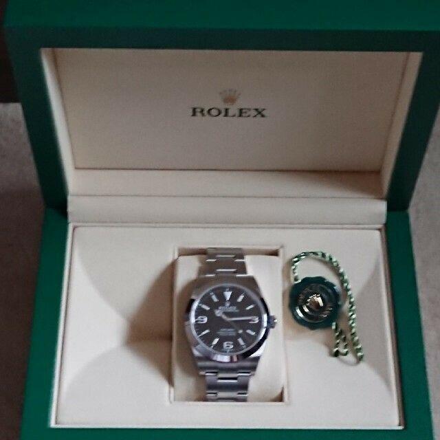 ROLEX(ロレックス)の①ラパンゴールド様専用。ロレックス エクスプローラー1  (国内正規) メンズの時計(腕時計(アナログ))の商品写真
