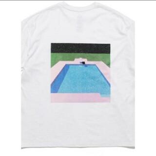 コモリ(COMOLI)のgraphpaper 永井博(Tシャツ/カットソー(半袖/袖なし))