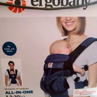 Ergobaby - エルゴ 抱っこ紐 オムニ360 クールエアーメッシュ インディゴ