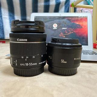 Canon - canon EF50mm f1.4 標準レンズセット