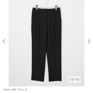 PLST - PLST スティックパンツ 黒