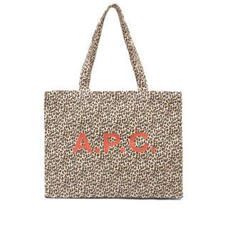 アーペーセー(A.P.C)の新品未使用アーペーセー レオパード トートバッグ(トートバッグ)