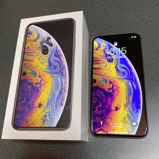iPhone - 【美品】iPhone XS silver 256GB SIMフリー 本体
