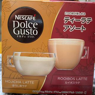 Nestle - [ネスカフェドルチェグスト]ティーラテアソート/ほうじ茶ラテ&ルイボスラテ