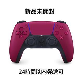 ソニー(SONY)の新品【PS5】DualSense ワイヤレスコントローラー コズミックレッド(家庭用ゲーム機本体)