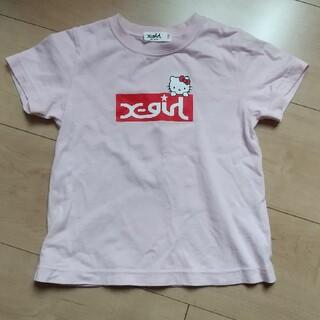 X-girl Stages - 100 X-girl キティちゃん 半袖Tシャツ
