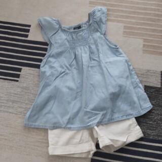 ギャップキッズ(GAP Kids)のGAP シャーリングトップス Mサイズ(Tシャツ/カットソー)