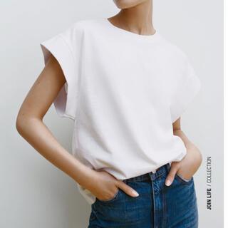 ZARA - ZARA リブ編みTシャツ S