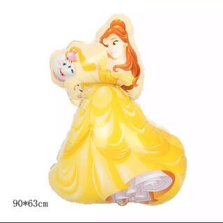 ディズニー(Disney)のプリンセス バルーン 風船 ベル 美女と野獣 バースデーデコレーション ホイル(キャラクターグッズ)