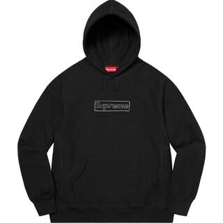 Supreme - Supreme KAWS Chalk Logo Hooded レシート付き