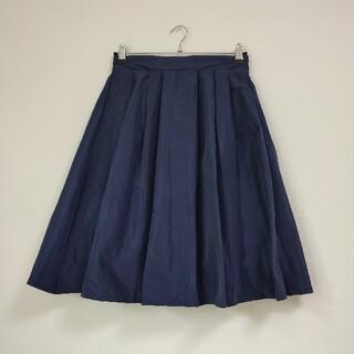 アーバンリサーチ(URBAN RESEARCH)のURBAN RESEARCH 光沢スカート(ひざ丈スカート)