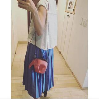yori 新品未使用タグ付き コットンプリーツスカート ワンピース ブラウス