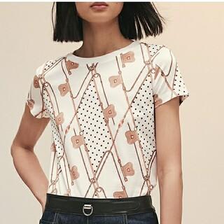 21aw 新作 tシャツ トップス インポート セレブ マダム ドット