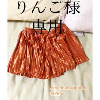 アメリカンアパレル(American Apparel)のAMERICANAPPAREL アメリカンアパレル kidsスカート サイズ4(スカート)