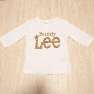 バディーリー(Buddy Lee)のBuddyLee♡迷彩ロゴ七分袖♡Tシャツ♡100(Tシャツ/カットソー)