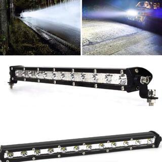 ■LEDライトバー 作業灯 ワークライト 13インチ ホワイト フォグランプ