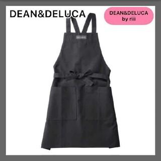 DEAN & DELUCA - DEAN&DELUCA ディーンアンドデルーカ フルエプロン ブラック