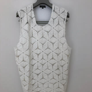 コムデギャルソンオムプリュス(COMME des GARCONS HOMME PLUS)のCOMME des GARÇONS HOMME PLUS 20ssベスト(Tシャツ/カットソー(半袖/袖なし))