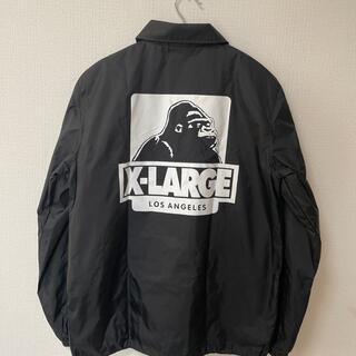 XLARGE コーチジャケット ブラック M size