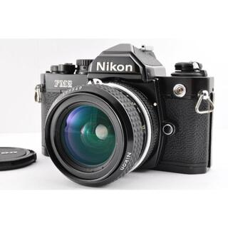 ニコン(Nikon)の#CE21 Nikon New FM2 Body Ai 28mm f2.8 付(フィルムカメラ)