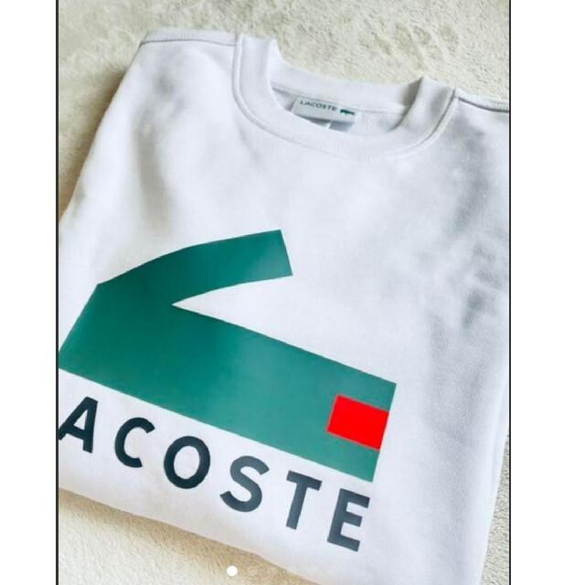 LACOSTE(ラコステ)の■希少■ LACOSTE  ワニロゴ スウェットシャツ メンズのトップス(スウェット)の商品写真