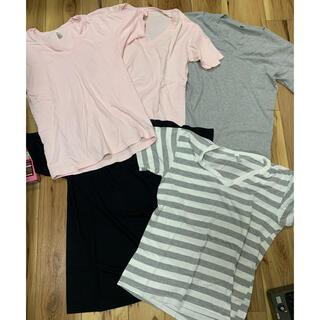アメリカンアパレル(American Apparel)の【格安5枚セット】vネックt(Tシャツ/カットソー(半袖/袖なし))