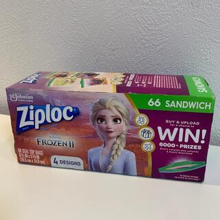 アナと雪の女王 - アナと雪の女王2 ジップロック 1箱 エルサ サンドイッチサイズ