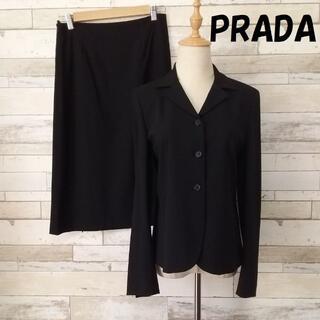 PRADA - 【人気】プラダ イタリア製 フォーマル セットアップ スカート サイズ40
