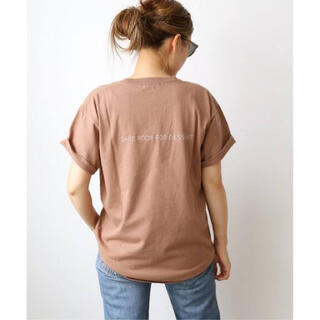 DEUXIEME CLASSE - CALUX キャラクス SAVE ROOM FOR DESSERT Tシャツ