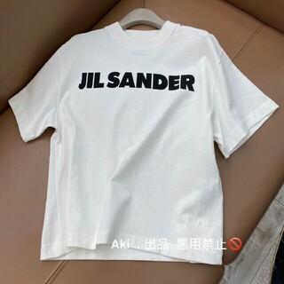 Jil Sander - ジルサンダー ロゴTシャツ jilsander Lサイズ