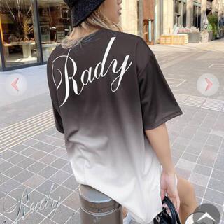 レディー(Rady)のRadyバックロゴTシャツ(新品)(Tシャツ(半袖/袖なし))