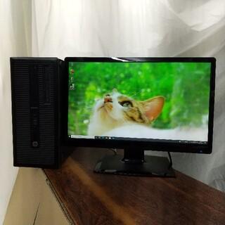 ヒューレットパッカード(HP)のCore i7 第4世代GTX1050ti搭載ゲーミングパソコン メモリ16GB(デスクトップ型PC)