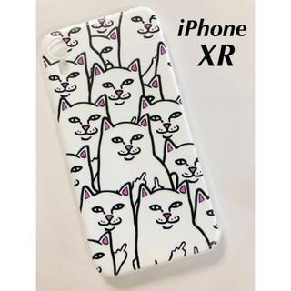 iPhone XR ケース RIPNDIP リップンディップ ネコ増殖