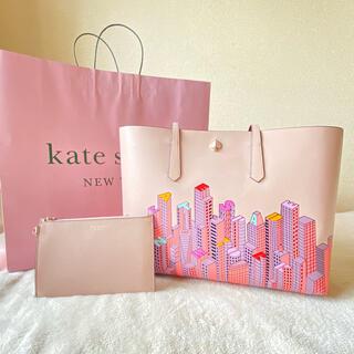 ケイトスペードニューヨーク(kate spade new york)のケイトスペード トートバッグ ピンク A4 ビル ハンドバッグ リストレット(トートバッグ)