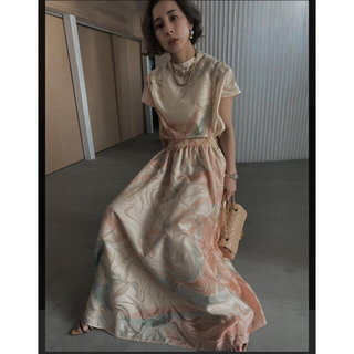 Ameri VINTAGE - MEDI MANON SET UP DRESS スナイデル  フレイアイディー