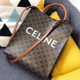 celine - 極美品CELINE バーティカルカバ トリオンフ キャンバス