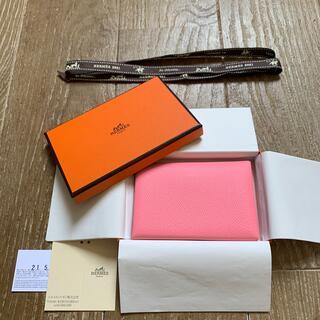 Hermes - 2021年新作【HERMES】カルヴィデュオ カードケース コインケース