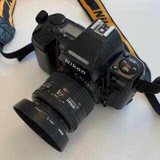ニコン(Nikon)のフィルム一眼レフ Nikon F-801  35-70mmレンズ、ストロボ付き (フィルムカメラ)