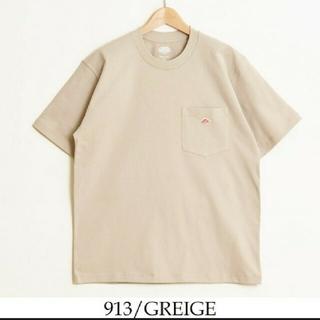 ダントン(DANTON)の新品 DANTON  ダントン Tシャツ カットソー 半袖  ベージュ 40(Tシャツ/カットソー(半袖/袖なし))