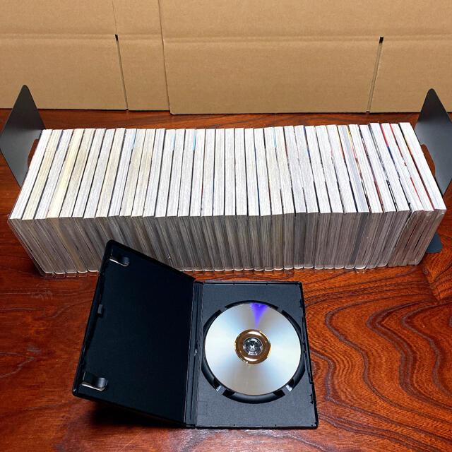 美品 進撃の巨人1~34巻全巻セット+悔いなき選択+DVD ブックカバー 新品 エンタメ/ホビーの漫画(全巻セット)の商品写真
