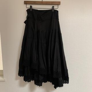 COMME des GARCONS - トリココムデギャルソン ロング巻きスカート