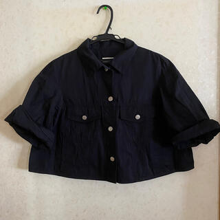 ドリスヴァンノッテン(DRIES VAN NOTEN)のドリスヴァンノッテン ショートシャツジャケット(シャツ/ブラウス(半袖/袖なし))