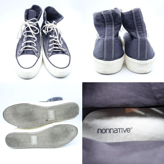 nonnative(ノンネイティブ)のNONNATIVE DWELLER TRAINER COTTON CANVAS  メンズの靴/シューズ(スニーカー)の商品写真