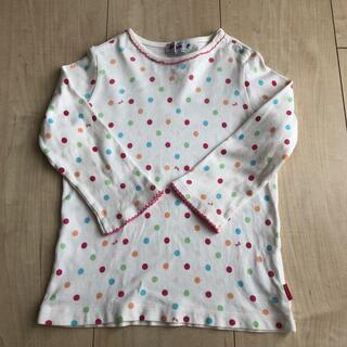 ミキハウス(mikihouse)のミキハウス  フリー(70-80cm)(Tシャツ)